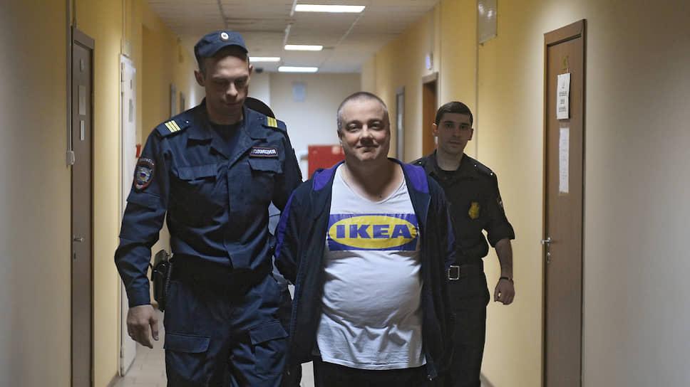 Бизнесмен Константин Пономарев во время оглашения приговора по делу о ложном доносе и фальсификации доказательств