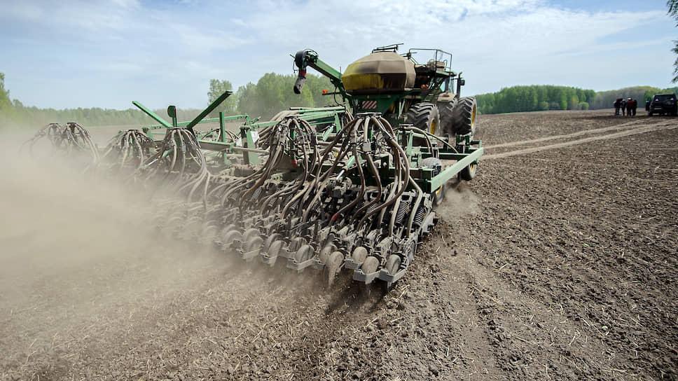 Фермеров не пускают в поля