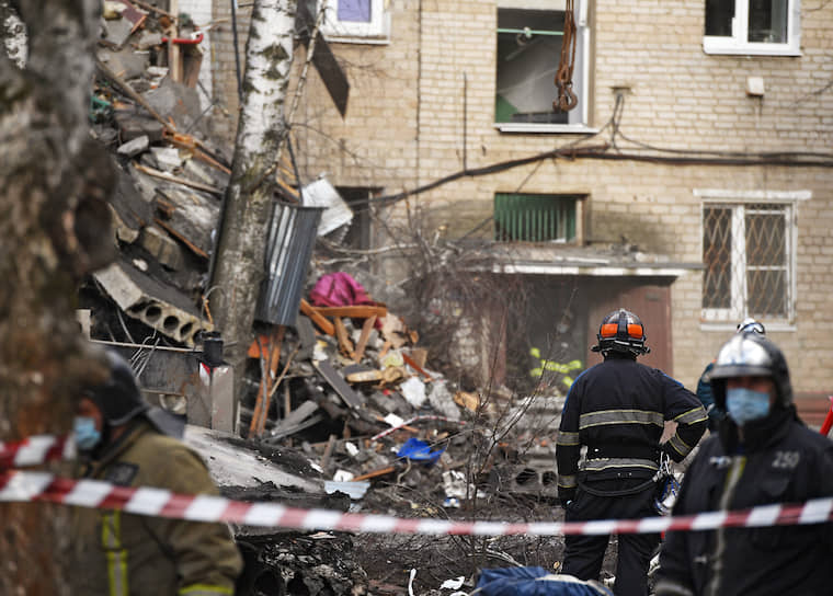 В субботу, 4 апреля, в Орехово-Зуево в пятиэтажном доме 31 на улице Гагарина произошел взрыв бытового газа