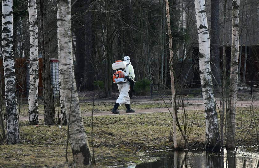 Дезинфекция общественных мест в городе Всеволожск Ленинградской области