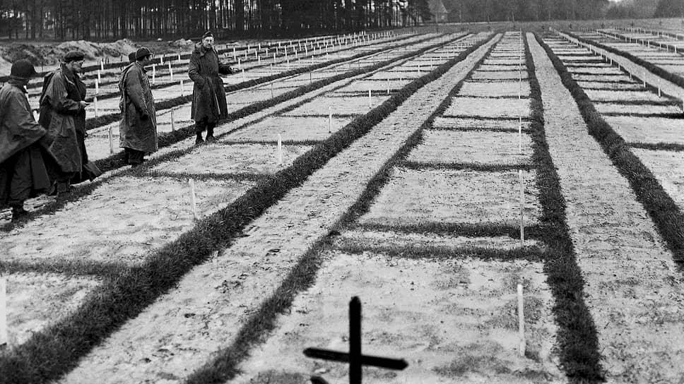 Массовое захоронение близ лагеря советских военнопленных шталаг 326