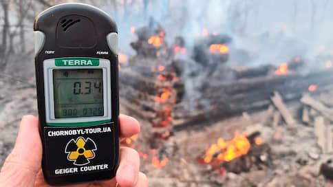 Горят леса, горит Чернобыль