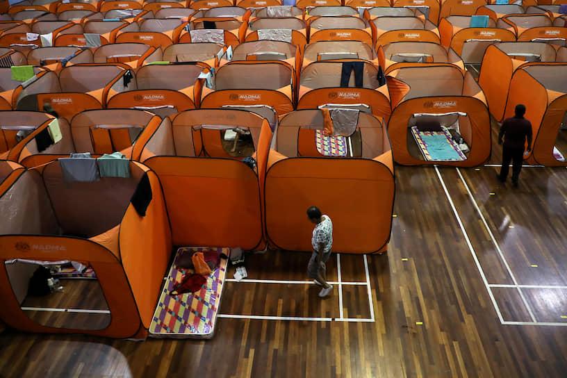 Куала-Лумпур, Малайзия. Временное убежище для бездомных