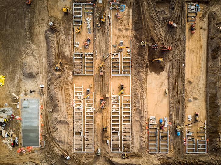 Площадка строительства 18 марта