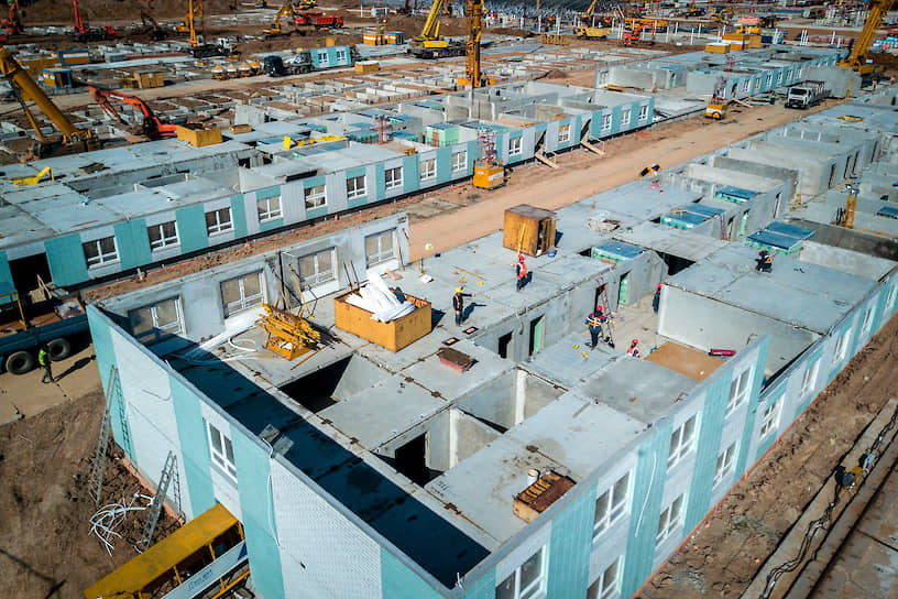 Площадь больничного комплекса составит 80 тыс. кв. м