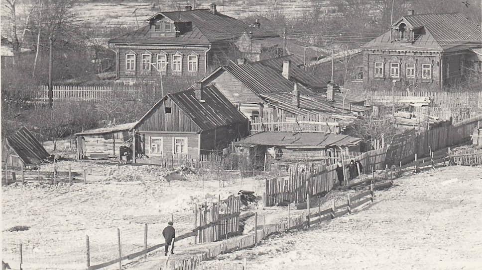 Деревня Очаково-Матвеевское в 1968 году