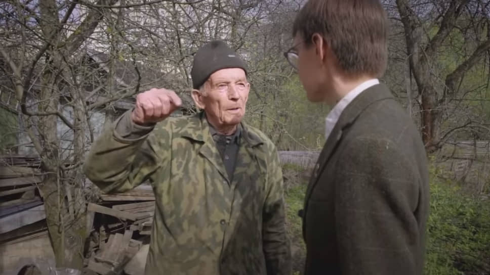 Ветеран Великой Отечественной Александр Андреевич Солопов (слева)
