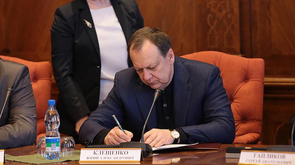"""Владелец «СМУ """"Краснодар""""» Юрий Клещенко"""
