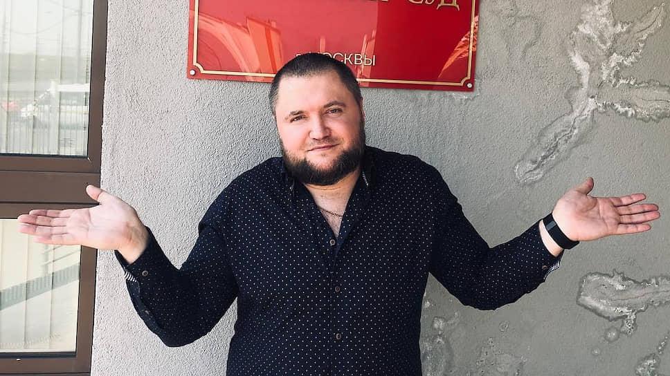 Администратор паблика «Омбудсмен полиции» Владимир Воронцов