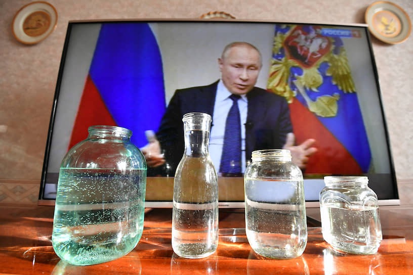 Обращение президента Владимира Путина к гражданам из-за ситуации с распространением коронавируса