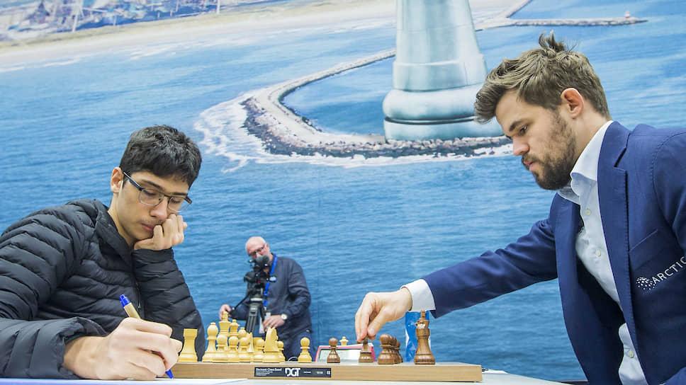 Магнус Карлсен проиграл подростку из Ирана
