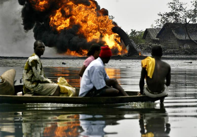 В период с 1976 по 1996 год в дельте Нигера произошло свыше 4,8 тыс. инцидентов, в результате которых в воду утекло свыше 328 тыс. тонн нефти
