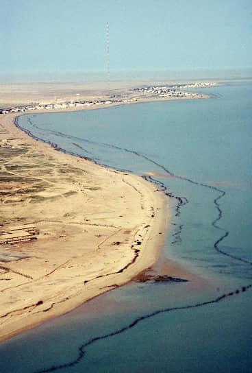В январе 1991 года оккупировавшие Кувейт иракцы слили в воды Персидского залива до 820 тыс. тонн из танкеров и нефтяных терминалов, загрязнив 600 км побережья