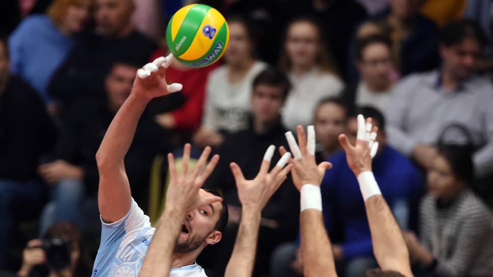 Волейбольные еврокубки остались без доигрывания