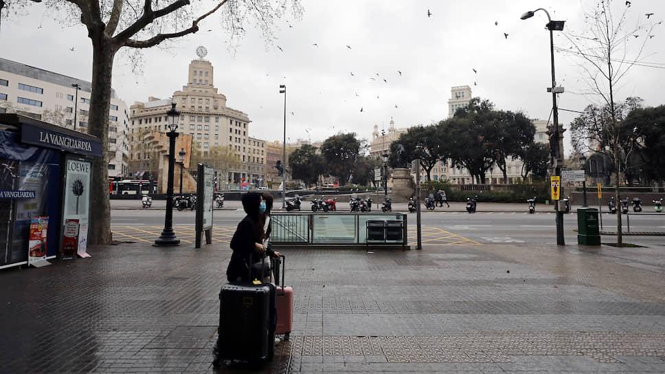 Барселона в период карантина