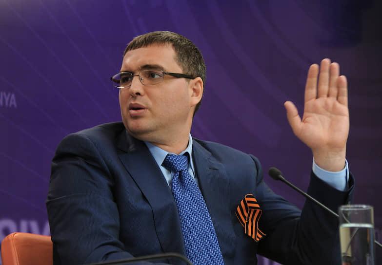 Молдавский политик Ренато Усатый