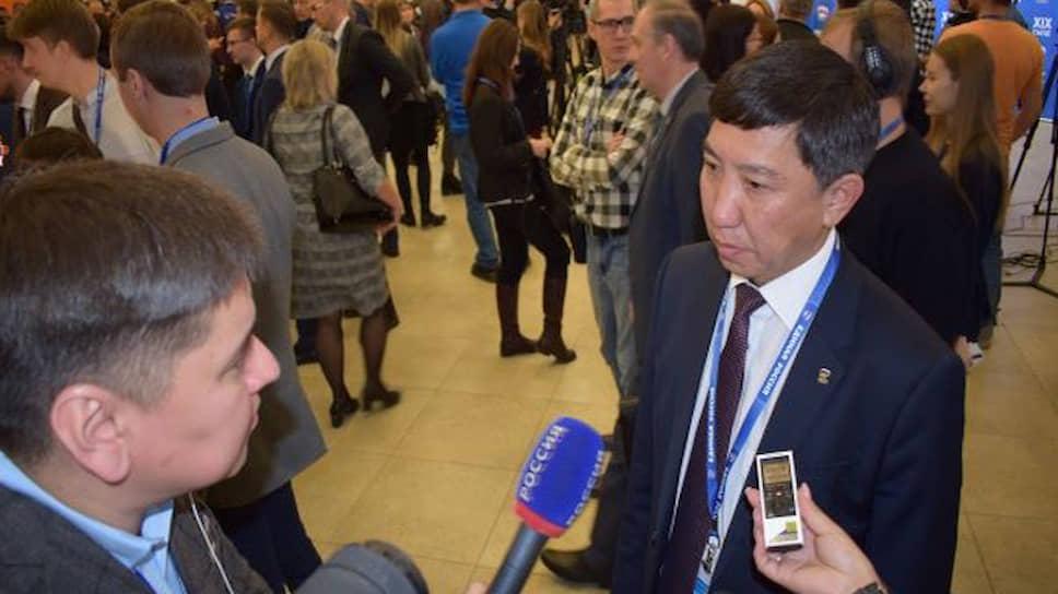 Бывший секретарь Бурятского регионального отделения Партии «Единая Россия» Баир Жамбалов