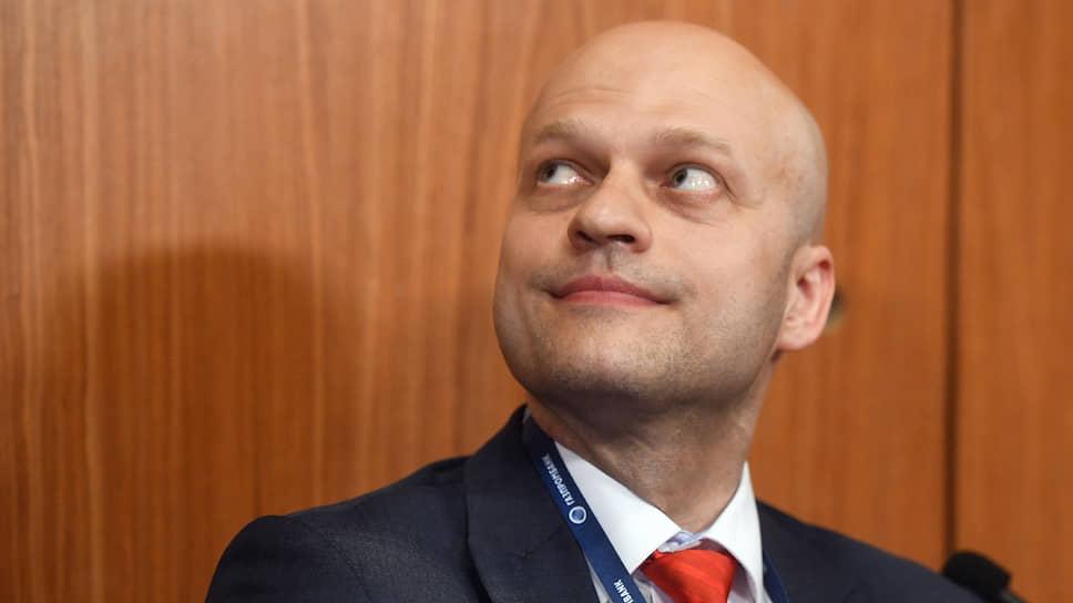 Заместитель министра юстиции России Денис Новак