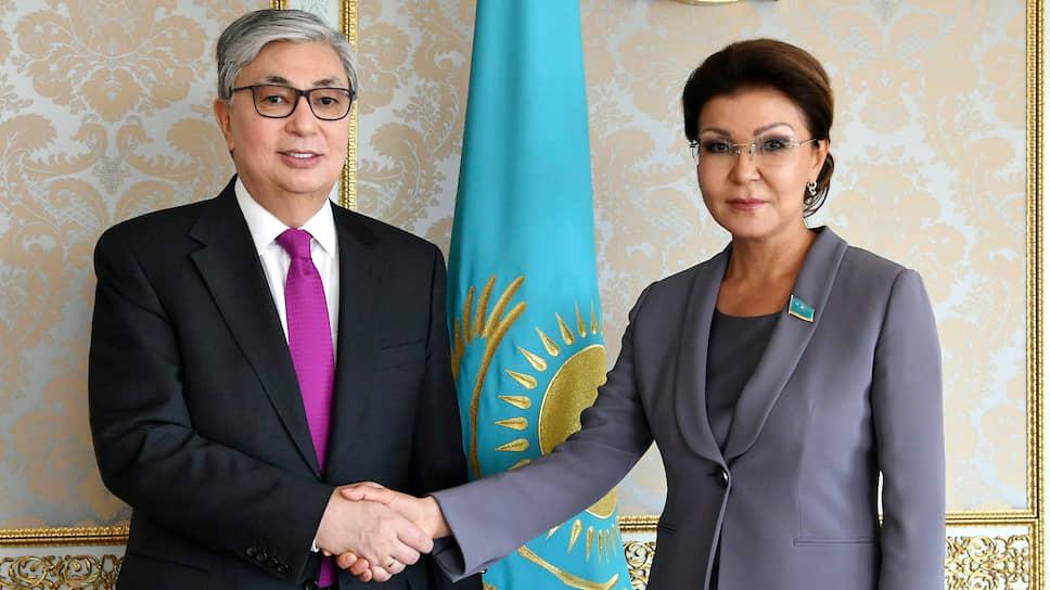 Президент Казахстана Касым-Жомарт Токаев и экс-спикер Сената Казахстана Дарига Назарбаева