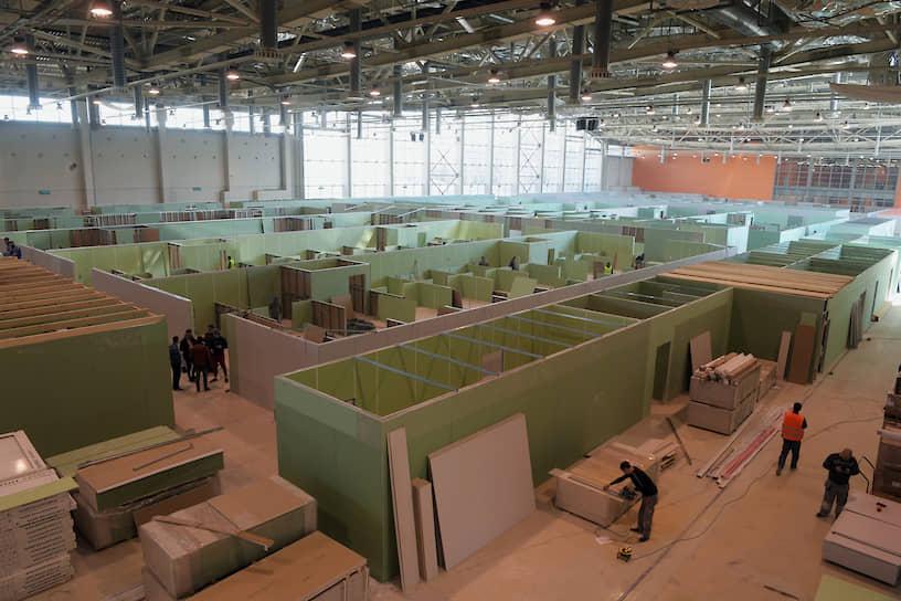 1 мая заместитель мэра Москвы по вопросам ЖКХ и благоустройства Петр Бирюков сообщил, что в Москве подготовят 44 площадки для развертывания временных госпиталей для заразившихся коронавирусом
