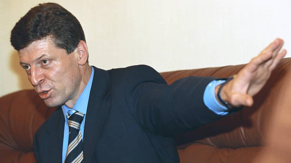 Заместитель руководителя администрации президента Дмитрий Козак