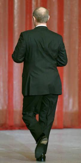 10 ноября 2003 года. На концерте, посвященном Дню милиции