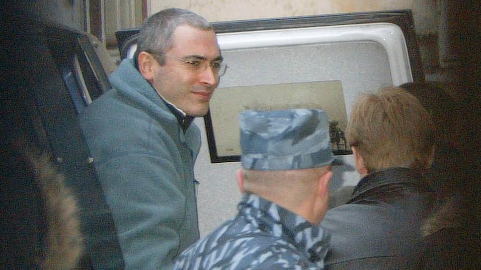 Бывший руководитель ЮКОСа Михаил Ходорковский