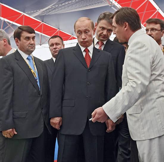 29 сентября 2006 года. На церемонии открытия экономического форума «Кубань»