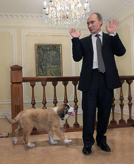 9 декабря 2010 года. В подмосковной резиденции Ново-Огарево