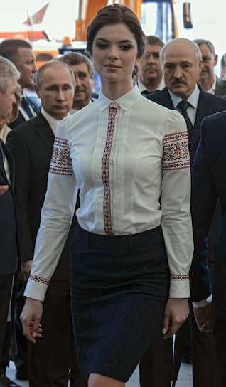 8 июня 2016 года. На агропромышленной выставке в Минске с президентом Белоруссии Александром Лукашенко