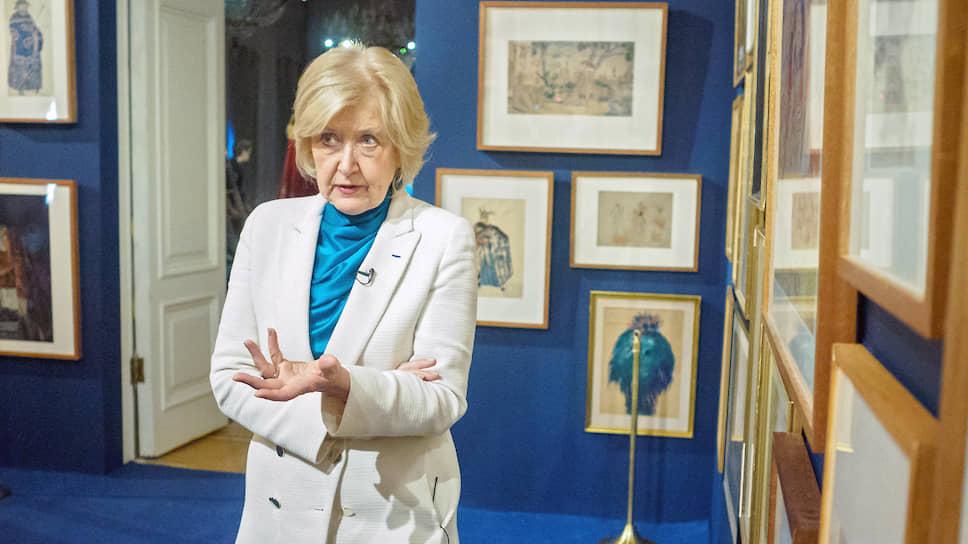 Директор государственного Музея театрального и музыкального искусства в Санкт-Петербурге Наталья Метелица