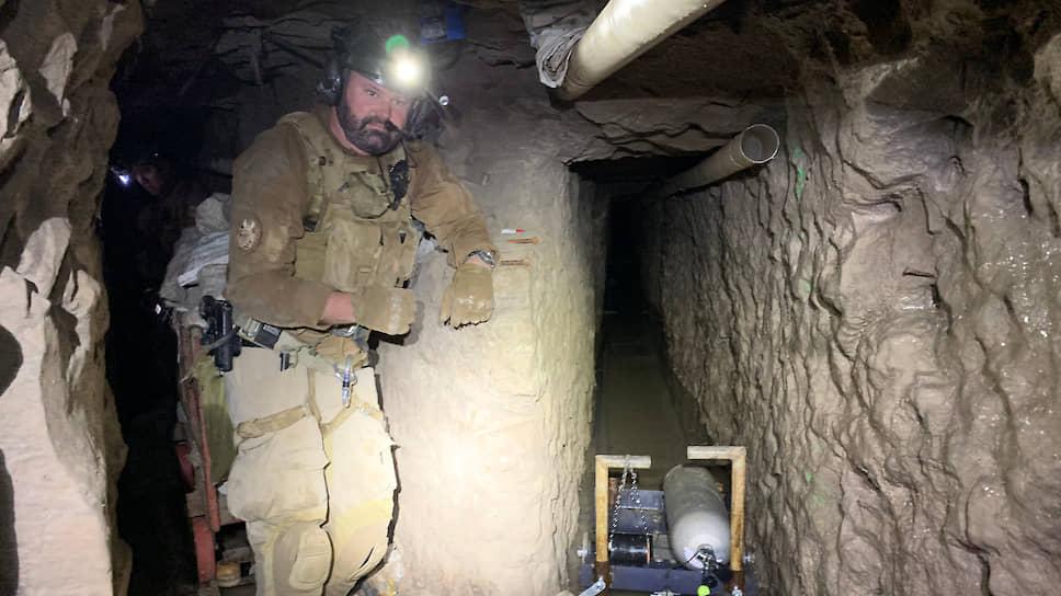 По подземным тоннелям контрабанду можно переправлять даже в условиях карантина — но только до тех пор, пока тоннель не обнаружат