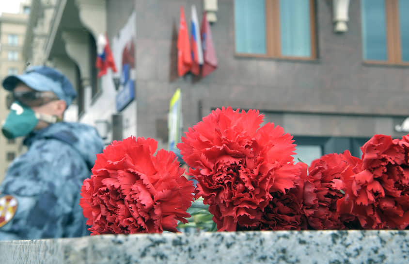 Празднование Дня Победы в Москве проходит в условиях режима самоизоляции