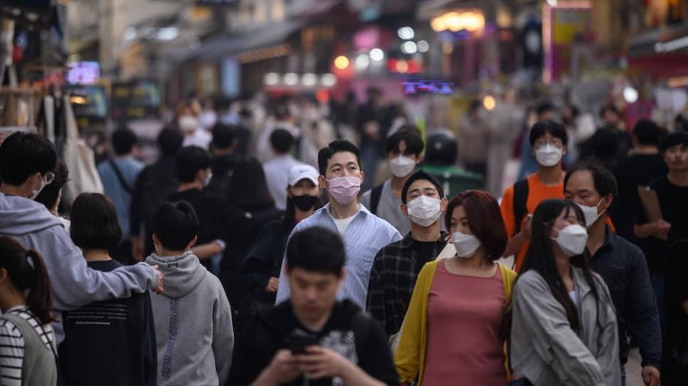 Как Южная Корея столкнулась с новым всплеском пандемии