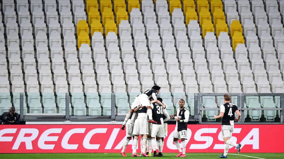 Чемпионат Италии вписался в «большую пятерку»