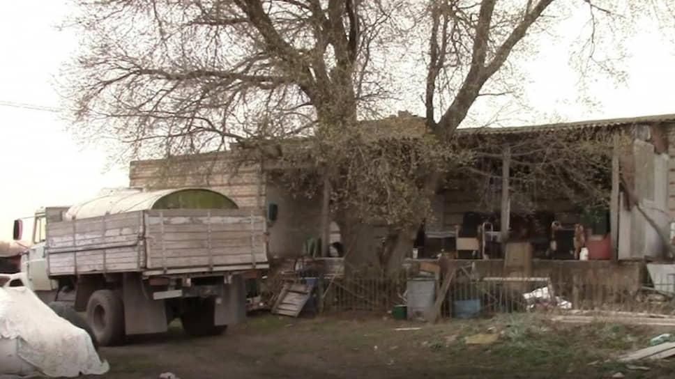 Место, где содержались похищенные бандой Виктора Панюшина