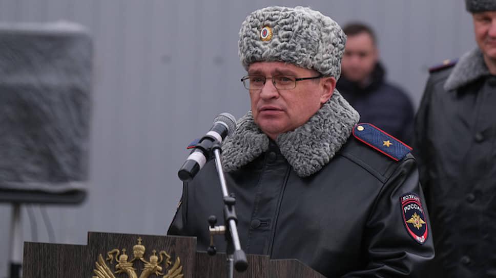 Генерал-майор полиции Александр Капустин