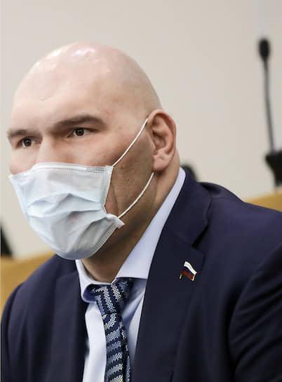 Первый зампред комитета Госдумы по экологии и охране окружающей среды Николай Валуев