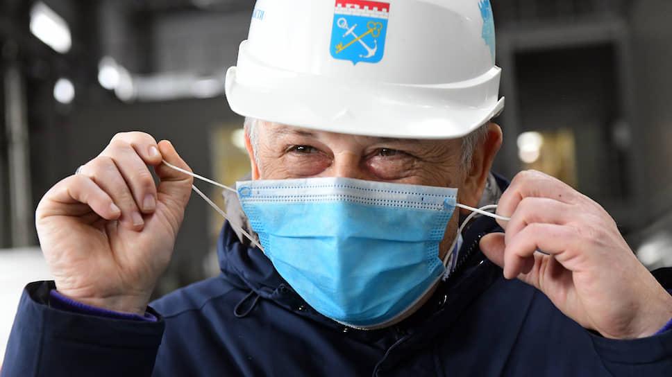 Губернатор Ленинградской области Александр Дрозденко, который в начале мая сообщил, что переболел коронавирусом