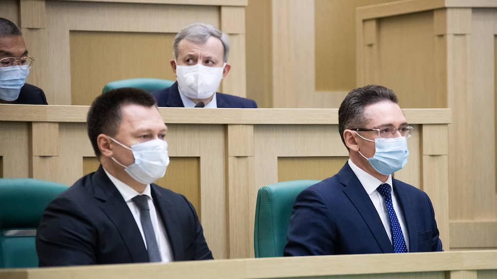 Игорь Краснов и Анатолий Разинкин