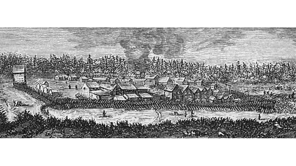 Частоколы вокруг русских деревень возводились для защиты не только от зловредных врагов внешних, но и от корыстных врагов внутренних