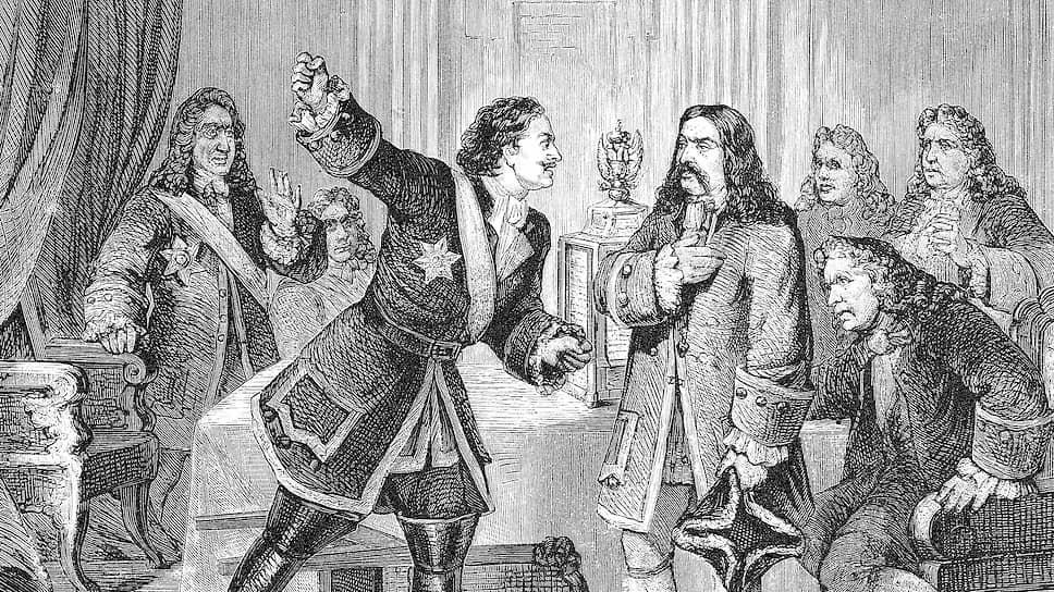 Царь Петр обещал жестоко карать только тех коррупционеров, чья страсть к обогащению наносила ущерб государству