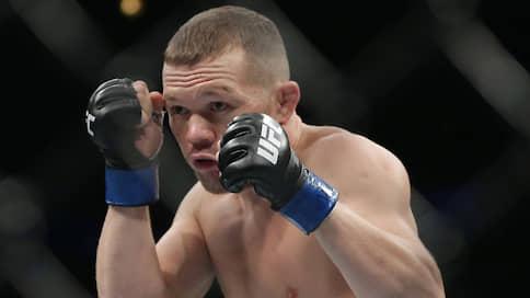 Петру Яну светит вакантный пояс  / Еще один российский боец может стать чемпионом UFC
