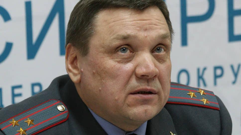 Начальник кемеровского ГАИ исправился на освобождение