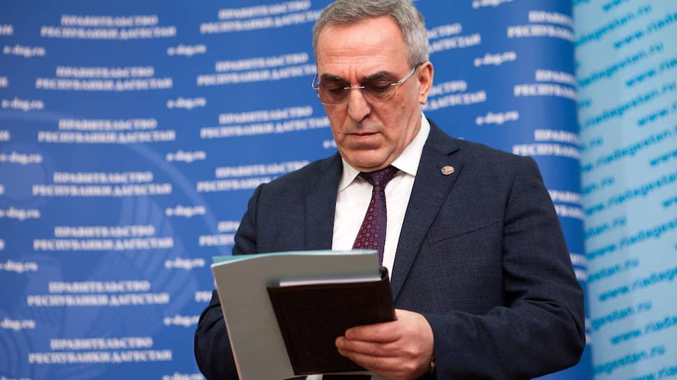 Глава Минздрава Дагестана Джамалудин Гаджиибрагимов
