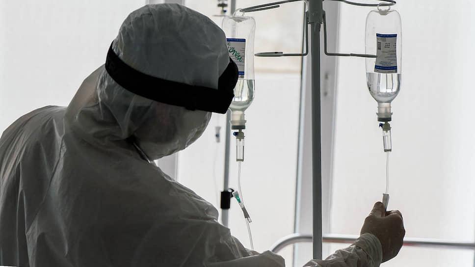 Отделение реанимации Республиканской клинической больницы (РКБ) в Махачкале