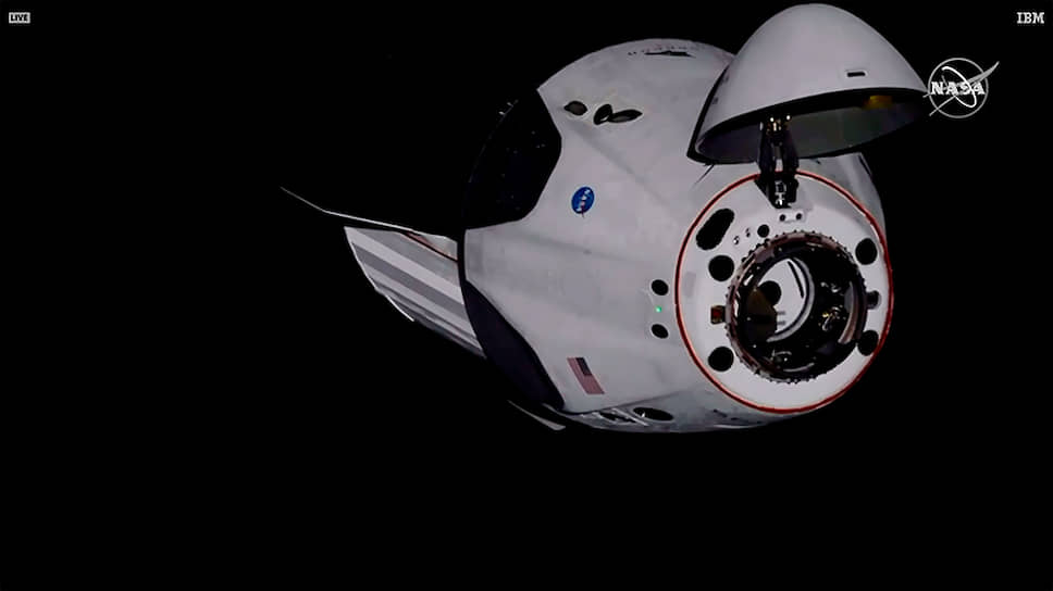 Как прошла стыковка Crew Dragon с МКС