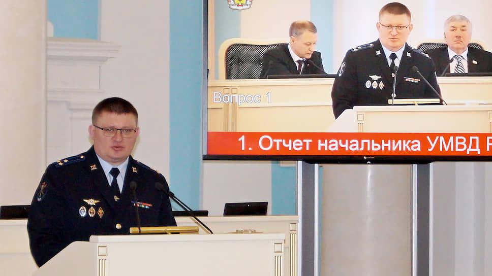 Начальник следственного департамента (СД) МВД РФ Сергей Лебедев