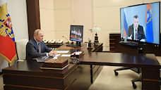 У Александра Никитина горит в душе  / Владимир Путин одобрил выдвижение тамбовского губернатора на второй срок