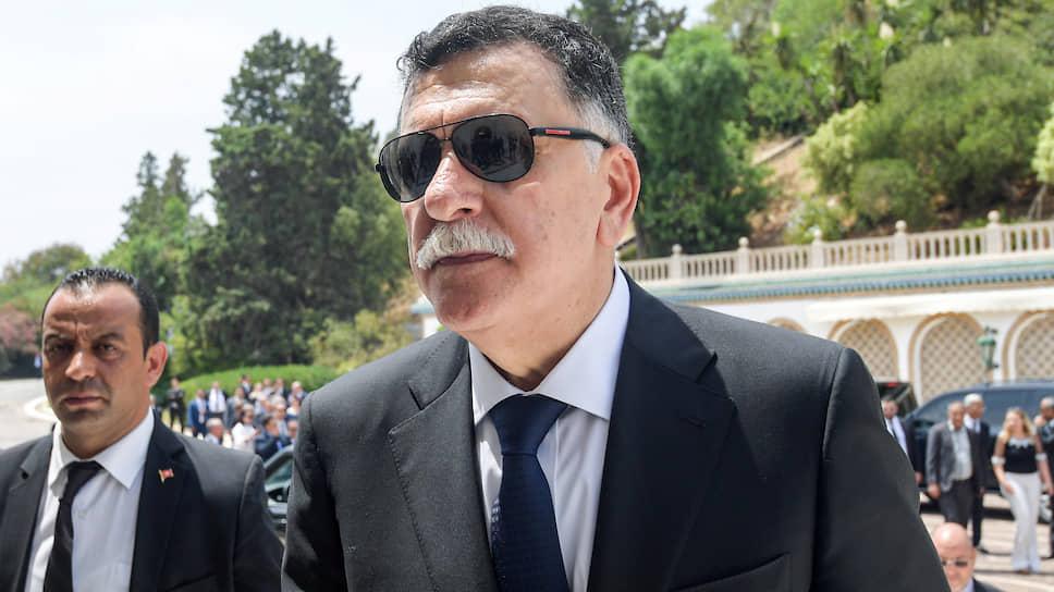 Глава Правительства национального согласия Ливии Файез Саррадж